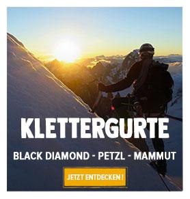 Jetzt entdecken Klettergurte  : Black Diamond, Petzl, Mammut…
