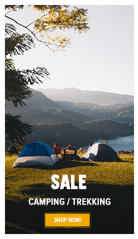 It's Summer sale! Come discover our Camping/Trekking assortment on sale
