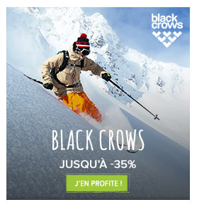 Black Crows jusqu'à -35% !