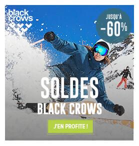 Découvrez l'ensemble des produits soldés Black Crows !