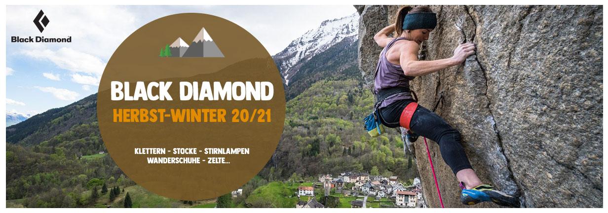 Entdecken Black Diamond 20/21: Klettern, Zelte, Stocke…