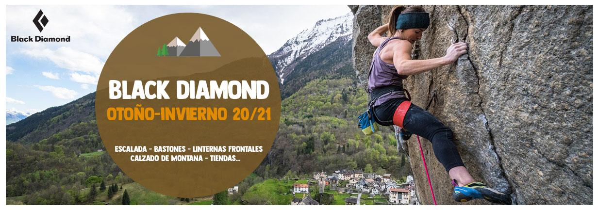 Descubre nuestras gama de Black Diamond 20/21 : Escalada, Bastones, Linternas frontales…