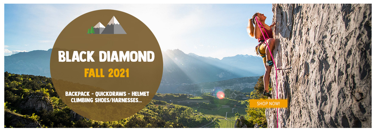 Discover our selection of Black Diamond products!