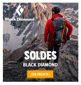 C'est les soldes chez Black Diamond ! Profitez de promotions jusqu'à -50% sur les produits de la marque