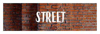 Découvrez tous les vêtement, chaussures et accessoires streetwear de notre univers Street