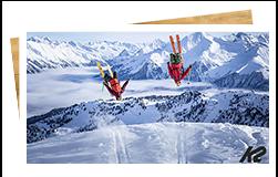 Article blog Snowleader skis K2