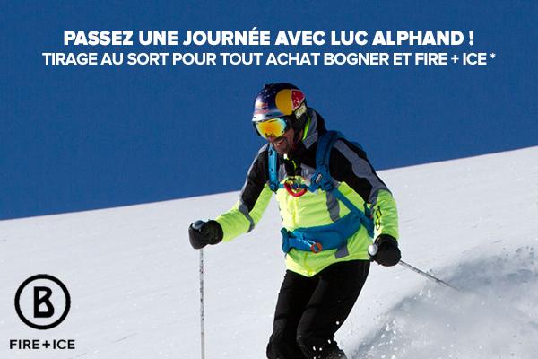 Une journée ski de randonnée avec Luc Alphand à gagner pour l'achat d'un produit Bogner ou Fire + Ice !
