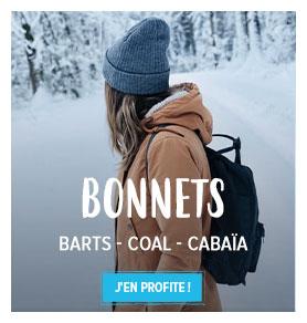 Profitez de notre rayon Bonnets Femme : Barts, Coal, Cabaïa...