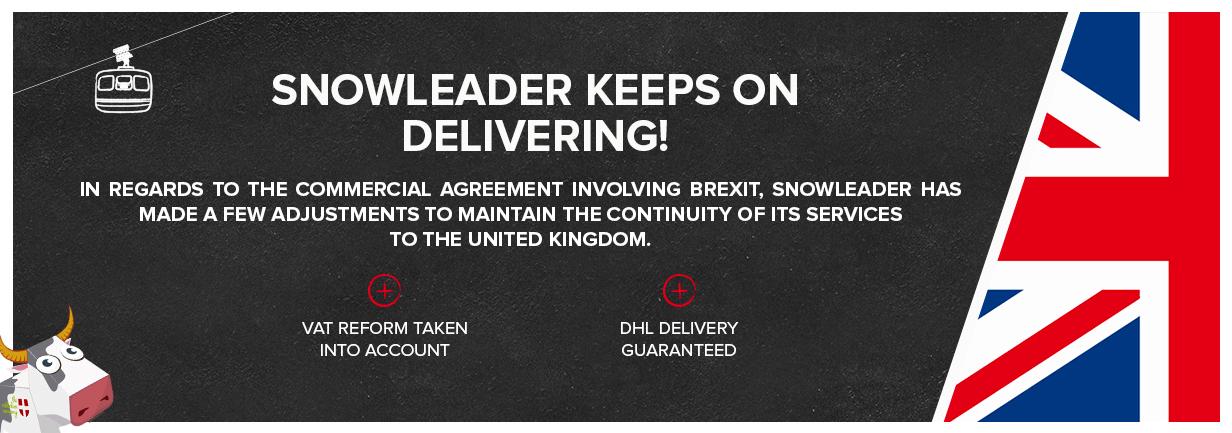 Snowleader Keeps On Delivering despite of Brexit!
