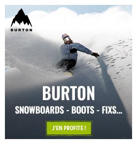 Découvrez les produits de la marque Burton !