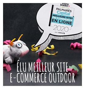 Snowleader a été élu Meilleur site E-Commerce Outdoor 2020 par Capital !