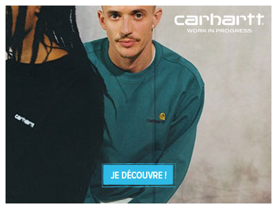Nouvelle collection Carhartt