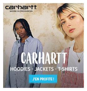 Découvrez nos vêtements streetwear Carhartt