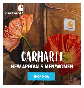 Discover Carhartt's new arrival for Men and Women!