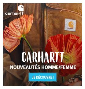 Découvrez les nouveautés Carhartt : T-shirts, Sweats, Sacs...