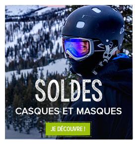 Soldes casques et masques de ski