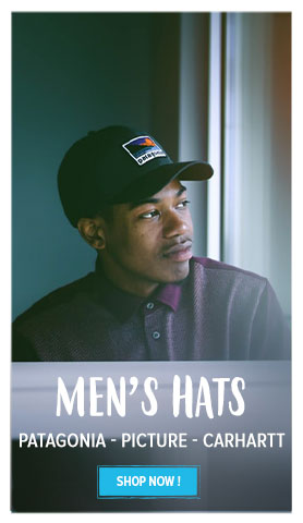 Come discover our Men's Hats: Patagonia, Picture, Carhartt...