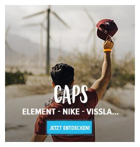 Entdecken Caps: Element, Nike, Vissla…