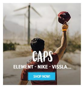 Discover our caps assortment: Element, Nike, Vissla…