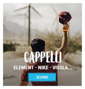 Scopri cappelli: Element, Nike, Vissla…