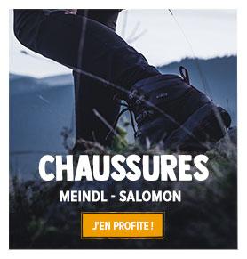 Découvrez notre rayon Chaussures de randonnée Femme : Meindl, Salomon...