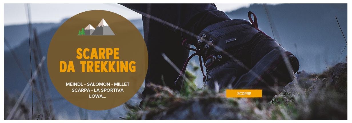 Scopri Scapre da Trekking: Meindl, Salomon, Millet...