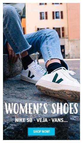 Discover Women's shoes : Nike Sb - Veja - Vans...
