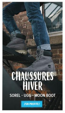 Profitez de notre rayon Chaussures d'Hiver : MoonBoot, Sorel, Ugg...