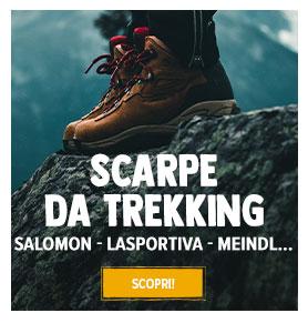 Scopri scarpe da trekking : Salomon, Meindl, Scarpa...