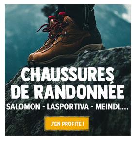 Découvrez dès maintenant notre rayon chaussures de randonnée : SALOMON, LASPORTIVA, MEINDL !