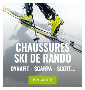 Chaussures de ski de randonnée : Scarpa, Scott, K2…