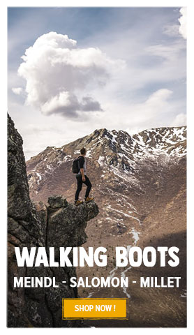 Discover our Hiking boots' assortment : Millet, Meindl, Salomon…