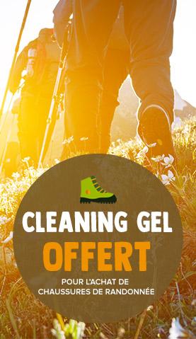 Cleaning gel offert