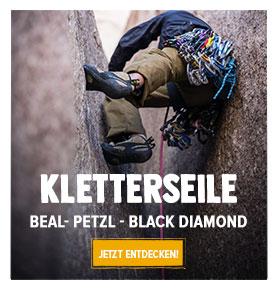 Jetz Entdecken Kletterseile: Beal, Petzl, Black Diamond…