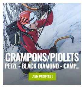 Découvrez notre gamme de crampons et piolets pour le ski de randonnée