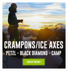 Come discover our Alpine Touring Ice Axes and Helmet assortments
