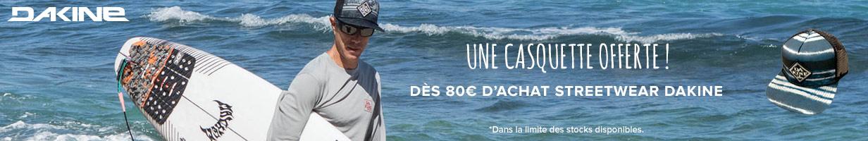 -Casquette offerte dès 60€ d'achats Dakine
