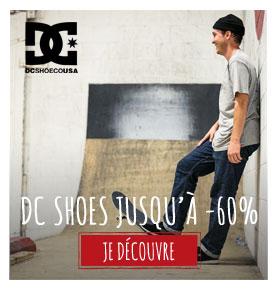 DC shoes en soldes !
