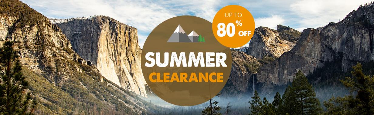 Summer clearance !