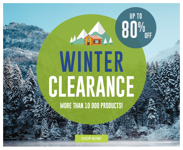 Up to -80% off on winter clearance's products
