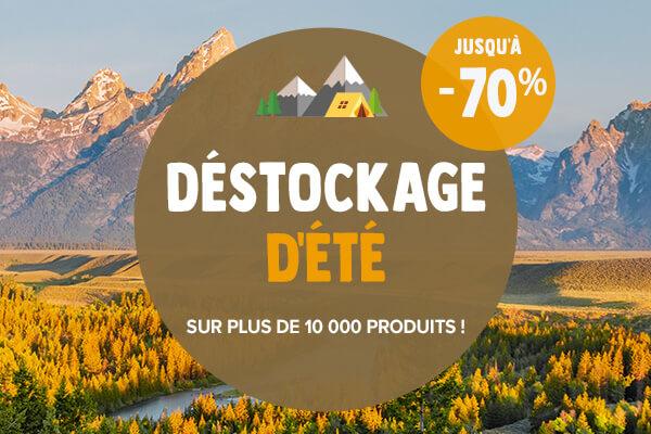 Destockage : jusqu'à -70% supplémentaires !