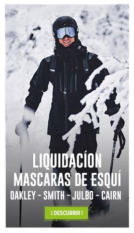 Liquidacion Mascaras esqui : Oakley, Smith, Julbo