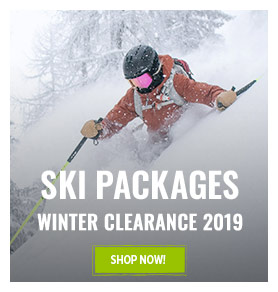 It's Outdoor Summer Clearance! Come discover our Ski packages range on sale