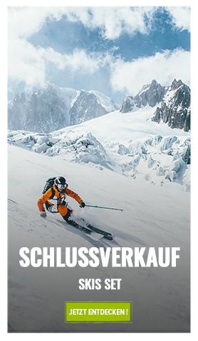Schlussverkauf Ski Set
