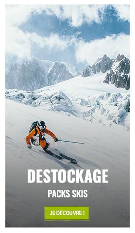 Découvrez notre sélection destockage : Packs de ski