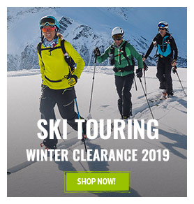 It's Outdoor Summer Clearance! Come discover our Ski Touring range on sale