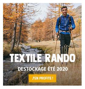 Profitez du destockage outdoor estival ! Jusqu'à -70% sur le Textile Randonnée Homme