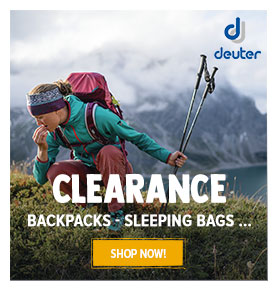 Summer Clearance on Deuter! Until 40% off on Deuter's products