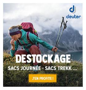 Destockage Deuter ! Profitez de promotions jusqu'à -40% sur les produits de la marque.