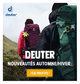 Découvrez tous les produits Deuter : Sacs à dos, Porte-bébés...